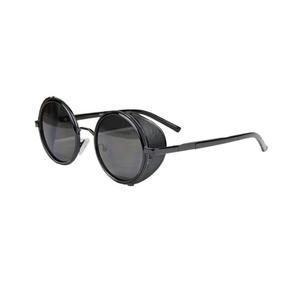 d5aadd84c Óculos Sol Redondo Circular Steampunk Vintage Retrô Uv400