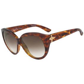 bcef493f16084 Evoke Déjà Vu Cat Style - Óculos De Sol Turtle  Brown Degra