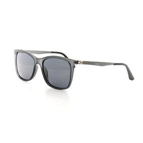 9d2c87ea9524a Óculos De Sol Masculino Cannes 4072 T 55 C 1 Preto E Cinza