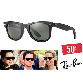 7b55c095413a1 Oculos Ray Ban Wayfarer Masculino Preto - Óculos no Mercado Livre Brasil