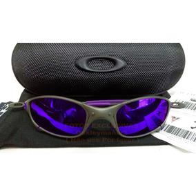 d7a27aa31 Oculos Juliet Xmetal Fosco Lente Roxa Violeta Borracha Roxa