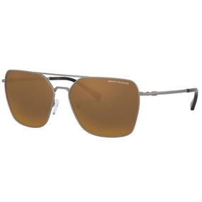 13a8bf560ce3b Oculos Sol Armani Exchange Ax2029s 60886r 60 Grafite Bronze