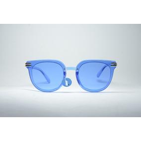 478df61a2 Óculos Sol Feminino Lente Espelhada Redondo Proteção Uv400