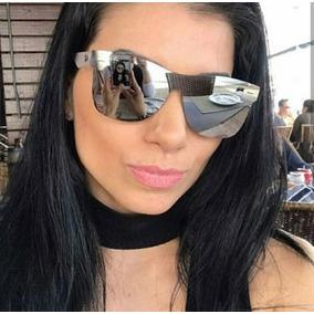 b25533b9a Óculos Unissex Quadrado Espelhado Marca Famosa De Grife Luxo. R$ 39 83