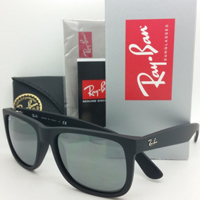 c81c93d5e7790 Ray Ban Justin Preto Degrade - Óculos no Mercado Livre Brasil