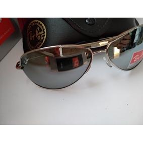 9a63cb44f0b61 Óculos Sol Ray-ban Aviator Rb3025 Rosê Espelhado Com Cromado. São Paulo ·  Ray Ban Cromado Lentes Espelhada 8015