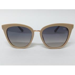 06a41b31a046e Oculos De Sol Feminino Luxo Detalhe Couro Lentes Degrade 88