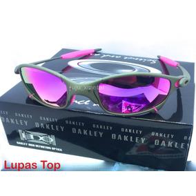 c2b07e450b07f Oculos Juliet Xmetal Lent E Borracha Vermelha Red Fire U.s.a