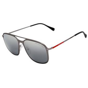 135e3de5aa4b3 Prada Ps 53ts - Óculos De Sol 7cq 2f2 Cinza Fosco  Prata Esp