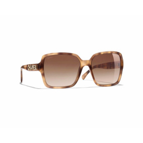 4be4d26fa338f Óculos De Sol Chanel Square Ref.5408 1660 s5 - Tartaruga