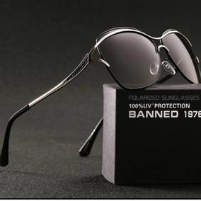 7b6e929dd659b Óculos De Sol Feminino Uv400 Hd Polarizado 100% Original