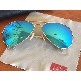 65fc43440 Oculos Rayban Aviador Espelhado Azul - Óculos no Mercado Livre Brasil