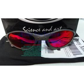 fb437949c98e2 Oculos Penny Xmetal Cinza Fosco Lente Vermelha Dark Ruby