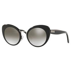 8b9cd13495298 Oculos Miu Miu Renoir Preto Fosco - Óculos no Mercado Livre Brasil