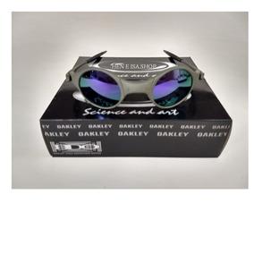4e55a8d71bc24 Oculos Oakley Mars Medusa Roxa + Saquinho + Caixa Da Oakley