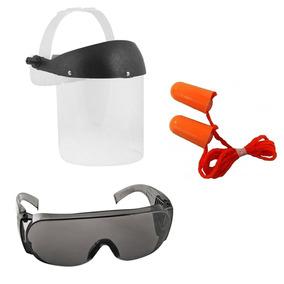 a766e5f573359 Oculos De Seguranca Com Protetor Auricular no Mercado Livre Brasil