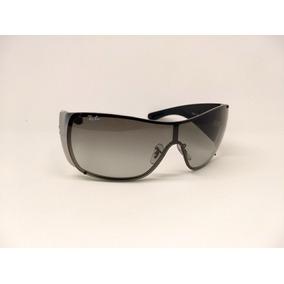 93129e6525b0c Oculos De Sol Ray Ban 3211 Mascara Small Preto Fume Degrade - Óculos ...