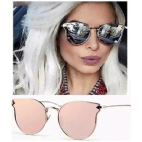 9d83925804e4e Óculos Espelhado Para Mulher De Sol Escuro Praia Juvenil Cat · R  39 32