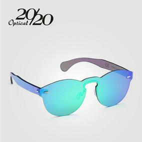 156f615e8b748 Oculos De Sol 20 20 Optical Redondo Lente Inteira S armação. R  209 99