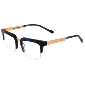 3a803d301c00c Evoke Volt 07 - Óculos De Grau G21 Black Marble Temple Gold