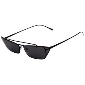da63960a99860 Prada Pr 64us - Óculos De Sol 1ab 5s0 Preto Brilho  Preto