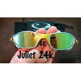 Atacado 24k Oakley Juliet - Óculos no Mercado Livre Brasil 9100211f575