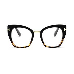 f5fec597984e4 Oculos De Grau Estilo Gatinho Onça - Óculos no Mercado Livre Brasil