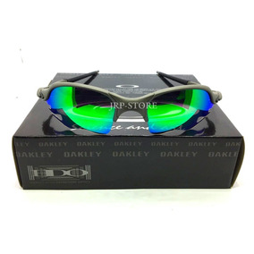 daae285be48a2 Óculos Romeo 2 Fogo Flame Xmetal Lente Verde G2e 24k Doublex