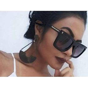 a6f0e1fb5fd30 Oculos Sol Mascara Feminino Quadrado De - Óculos no Mercado Livre Brasil