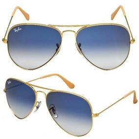 2c75adae7d2d1 Ray Ban 3025 Aviador Prata Lente Azul Espelhada - Óculos no Mercado ...
