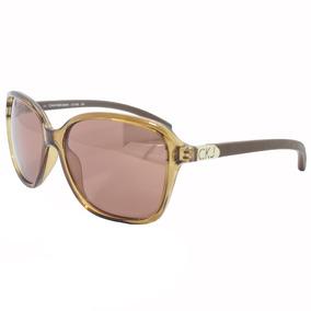 0fdcc51a3ea44 Oculos Calvin Klein Hastes Marrom - Óculos no Mercado Livre Brasil