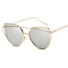 dabb9be951b60 Oculos Solar Olho De Gato Preto Com A Lente Prata Sol Prada - Óculos ...