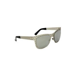 a73ce7d5dcb75 Óculos De Sol Gucci 100% Proteção U.v. Ópticas Melani Cinza