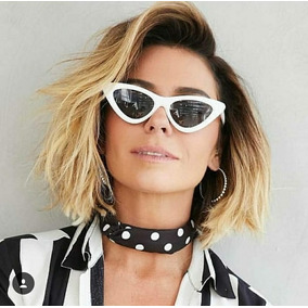 efa63db1164af Óculos Triangular Vintage Retro Verão Giovanna Antonelli Top