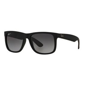 b1e25d1390896 Oculos Sol Ray Ban Justin Rb4165 622 t3 57 Preto Polarizado