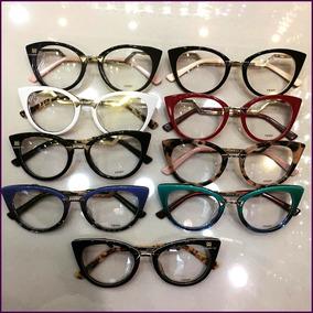 1f709f0ac48f9 Oculos Acetato De Grau Fendi - Óculos no Mercado Livre Brasil