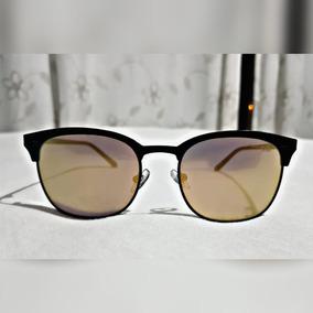 162b5ab3a Óculos De Sol Chilli Beans Espelhado Dourado Semi Novo