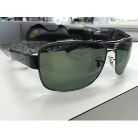cf1e0c5611604 Oculos Ray Ban Polarizado Rb3522 004 9a 64 Made In Italy. R  569