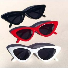 8e85fc9fd43c7 Oculos De Sol Retro Vintage Gatinho - Óculos no Mercado Livre Brasil
