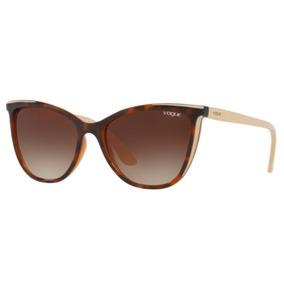 faff5e3213580 Oculos Sol Vogue Vo5252s 265413 56 Marrom Havana L Marrom De