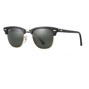 c2d0e0464301c Óculos Sol Ray Ban Clubmaster Rb3016 G15 Original Promoção