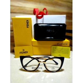 00ac0a4c5615c Oculo Grau Gatinho Azul Marinho Fendi - Óculos no Mercado Livre Brasil