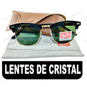 f3ad647f2b1a7 Oculos De Sol Clubemaster Masculino Feminino Lentes Cristal