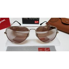 0ebd1144fea8a Ray Ban Rb 3024 Cromado Espelhado De Cristal Original Sol - Óculos ...