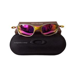 e0ed02cd9 Juju Oculos De Sol - Óculos De Sol Oakley Juliet no Mercado Livre Brasil