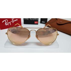 65a1a28e9798b Oculos Rayban Aviador Rose De Sol Ray Ban - Óculos no Mercado Livre ...