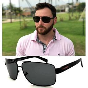 0399b49a2 Oculos De Sol Masculino Spr57 Large Polarizado Premium