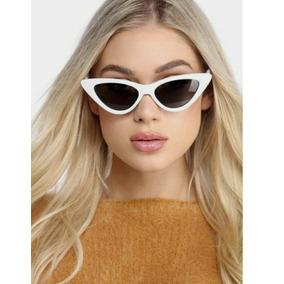 a54ee1c30e4f4 Óculos De Sol Triangular Gatinho 2019 Cat Eye Feminino Pinup