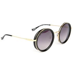 05b2aa32a43e3 Oculos Sol Evoke For You Ds23 A01 Preto Dourado L Cinza Degr