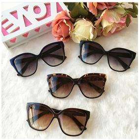519e5b7a5acb8 Oculos De Sol Feminino Retro Gatinho Grande - Óculos no Mercado ...